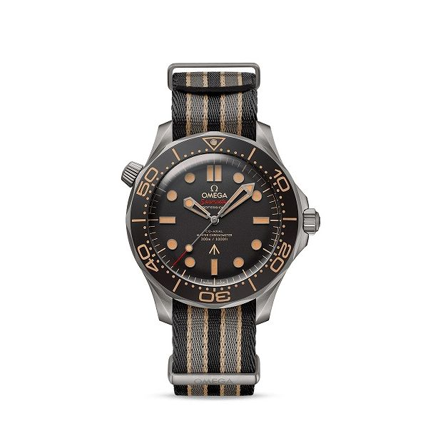 Omega Seamaster Diver 300M JAMES BOND 007 Titanium 42MM Watch. 21092422001001 Graziella Fine Jewellery Oshawa, ON