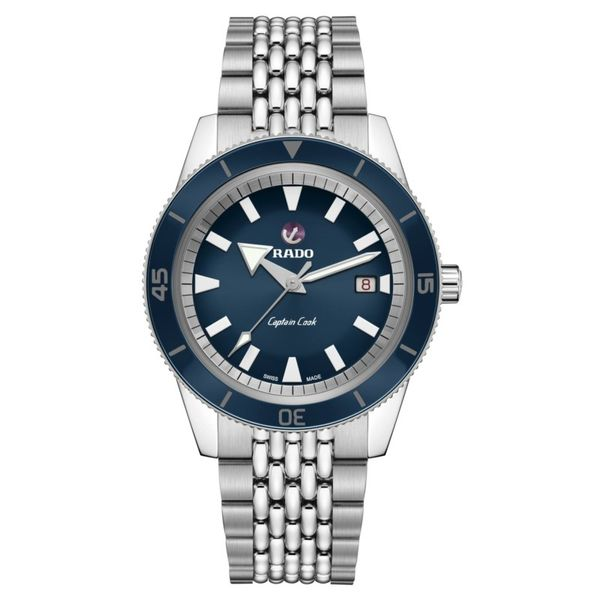 Rado Captain Cook Automatic 42MM Watch. R32505203. Graziella Fine Jewellery Oshawa, ON
