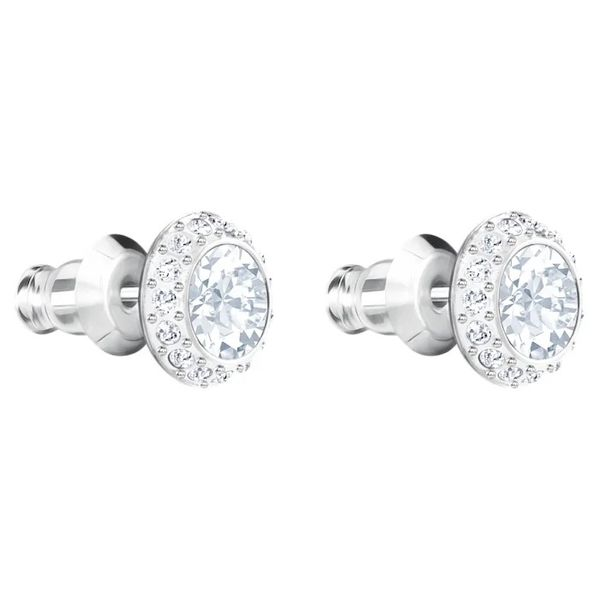Swarovski Angelic Pierced Earrings. Image 2 Graziella Fine Jewellery Oshawa, ON