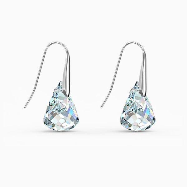 Swarovski Spirit Pierced Earrings. Image 2 Graziella Fine Jewellery Oshawa, ON
