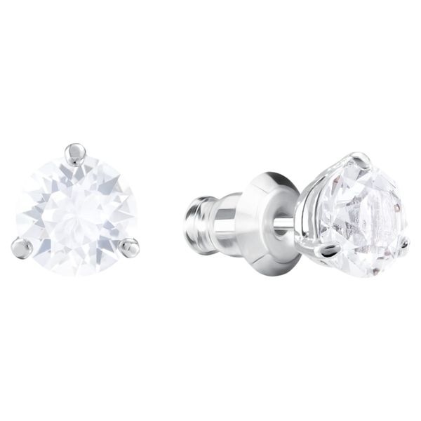 Swarovski Solitaire Earrings. Image 2 Graziella Fine Jewellery Oshawa, ON