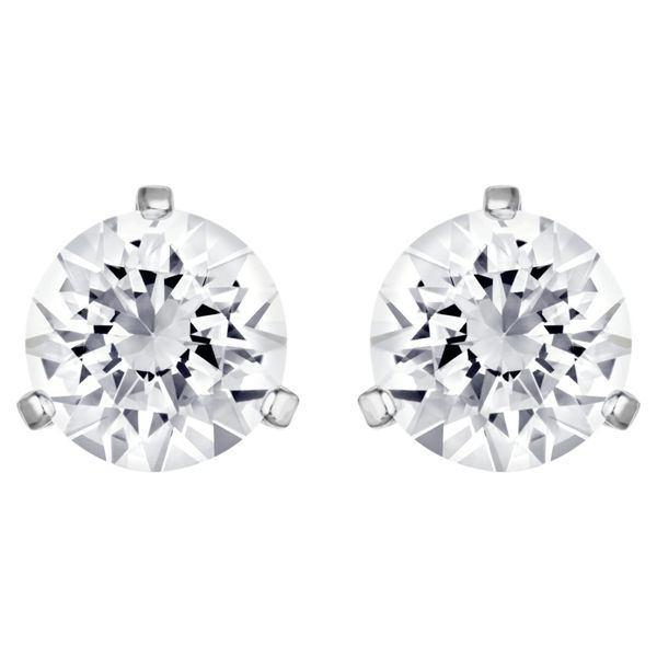 Swarovski Solitaire Earrings. Graziella Fine Jewellery Oshawa, ON