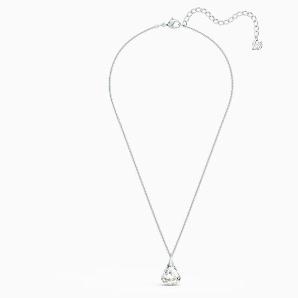 Swarovski Rhodium Plated Spirit Necklace. Image 2 Graziella Fine Jewellery Oshawa, ON