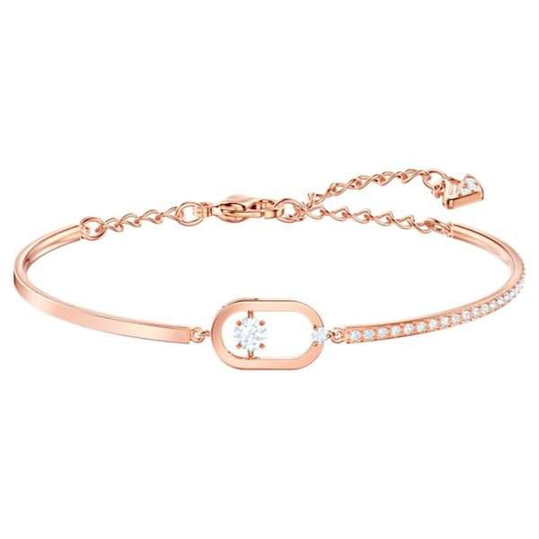 Swarovski Rose Tone Plated North Bracelet. Graziella Fine Jewellery Oshawa, ON