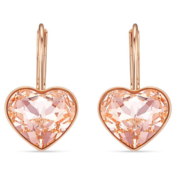 Swarovski Bella Pink Rose Tone Earrings. Graziella Fine Jewellery Oshawa, ON
