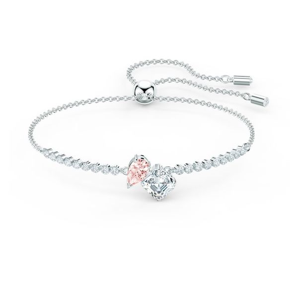 Swarovski Attract Soul Bracelet, Pink, Rhodium plated Graziella Fine Jewellery Oshawa, ON