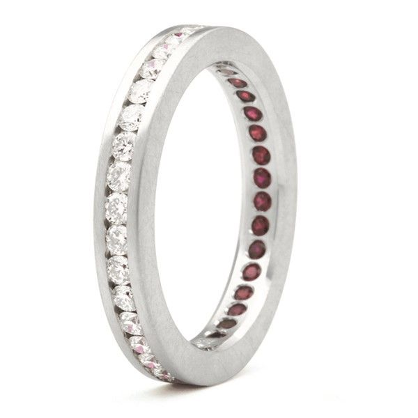 Akatsuki Eternity Ring Hamilton Hill Jewelry Durham, NC