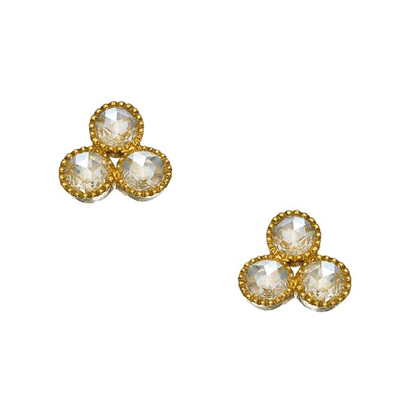 Diamond Stud Earrings Hamilton Hill Jewelry Durham, NC