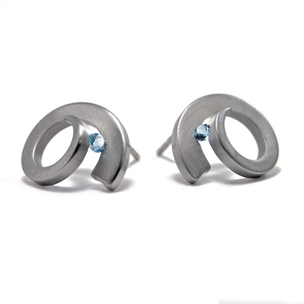 'Musicus' Stud Earrings Hamilton Hill Jewelry Durham, NC