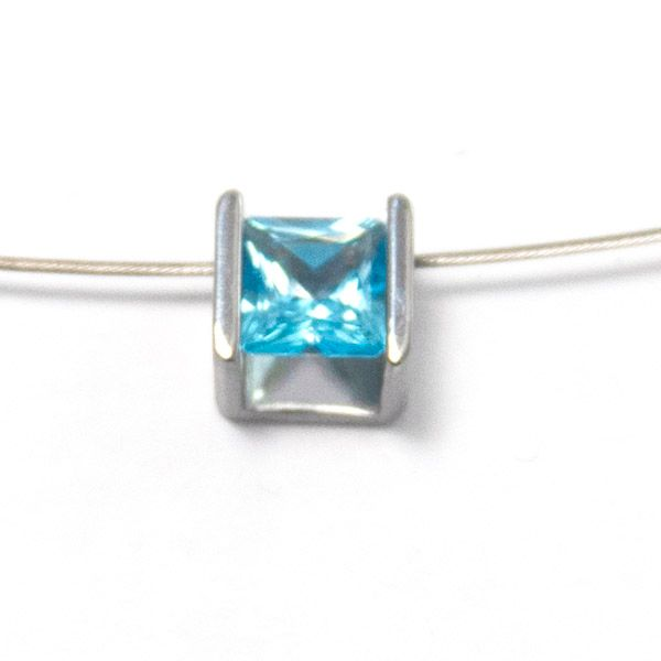 'Cube' Necklacet Hamilton Hill Jewelry Durham, NC