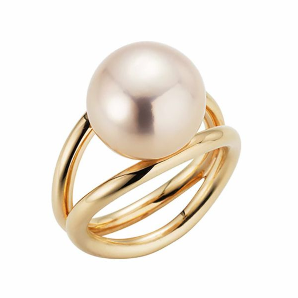 'Wired' Pearl Ring Hamilton Hill Jewelry Durham, NC