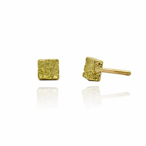 Square 'Toy' Earrings Hamilton Hill Jewelry Durham, NC