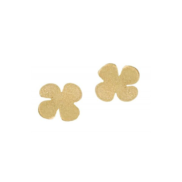 'Clover' Stud Earrings Hamilton Hill Jewelry Durham, NC