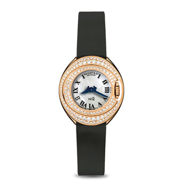 Collection No.2 Rose Gold Diamond Watch Hamilton Hill Jewelry Durham, NC