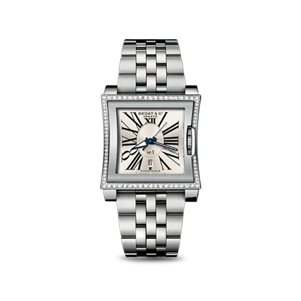 Collection No.1 Square Face Diamond Watch Hamilton Hill Jewelry Durham, NC