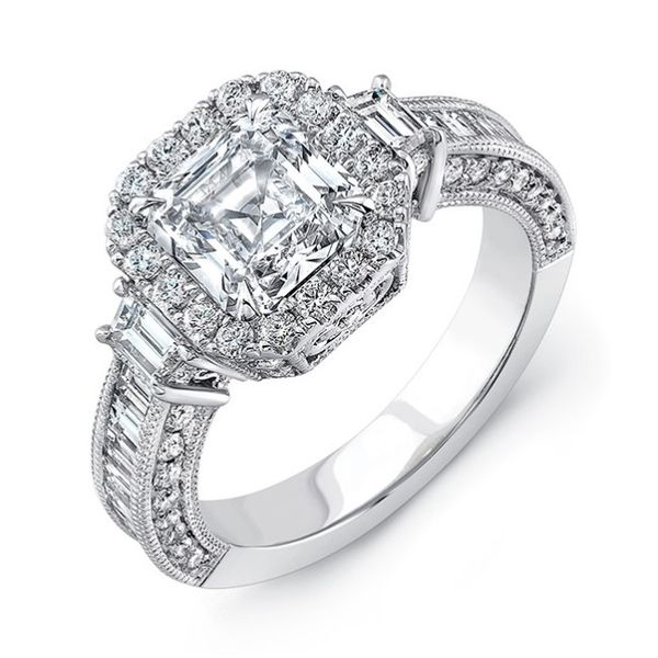 Asscher Cut Diamond Ring Hingham Jewelers Hingham, MA