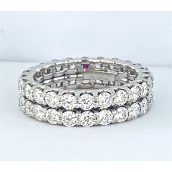 Cento Collection Double Eternity Band Hingham Jewelers Hingham, MA