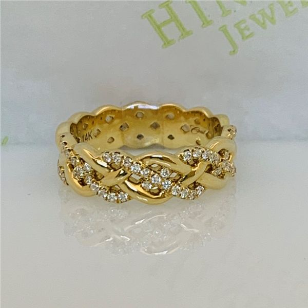 Braided Diamond Band Hingham Jewelers Hingham, MA