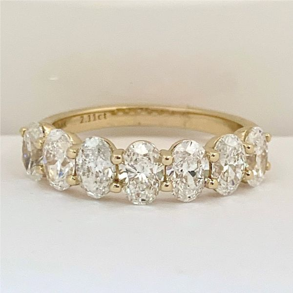 Oval Diamond Band Hingham Jewelers Hingham, MA