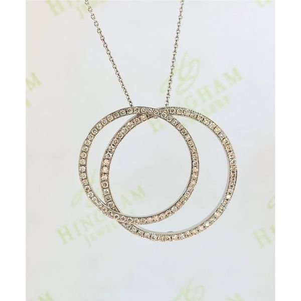 Double Circle Necklace Hingham Jewelers Hingham, MA