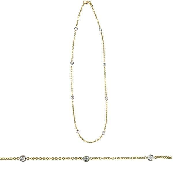 Diamonds By The Yard Necklace Hingham Jewelers Hingham, MA