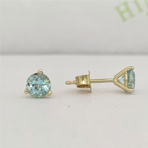Aquamarine Stud Earrings Hingham Jewelers Hingham, MA