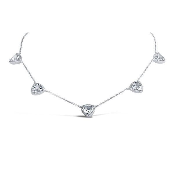 White Topaz Statement Necklace Hingham Jewelers Hingham, MA