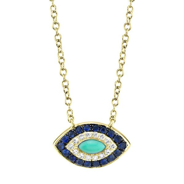 Evil Eye Necklace Hingham Jewelers Hingham, MA
