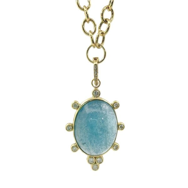 Aquamarine Statement Necklace Hingham Jewelers Hingham, MA