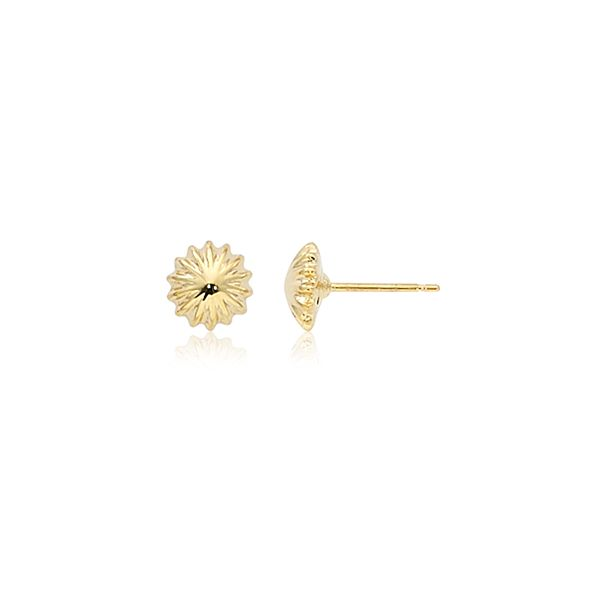 Small Scallop Button Studs Hingham Jewelers Hingham, MA