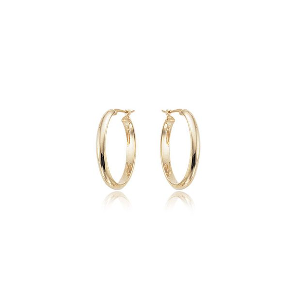 Gold Hoop Earrings Hingham Jewelers Hingham, MA