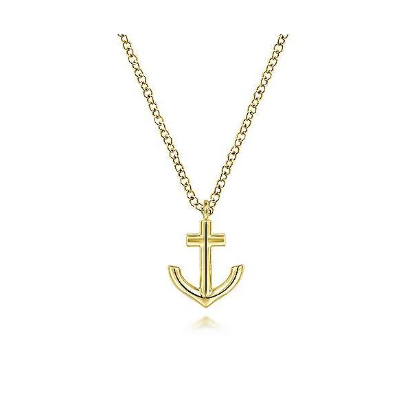 Anchor Necklace Hingham Jewelers Hingham, MA