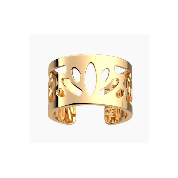 Gold Lotus Cuff Ring Hingham Jewelers Hingham, MA