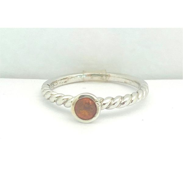 Citrine Stacking Ring Hingham Jewelers Hingham, MA