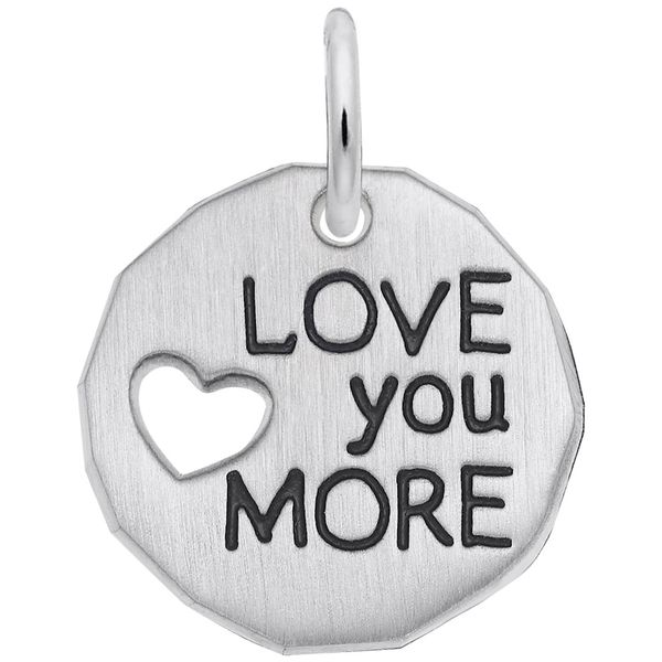 Love You More Charm Hingham Jewelers Hingham, MA