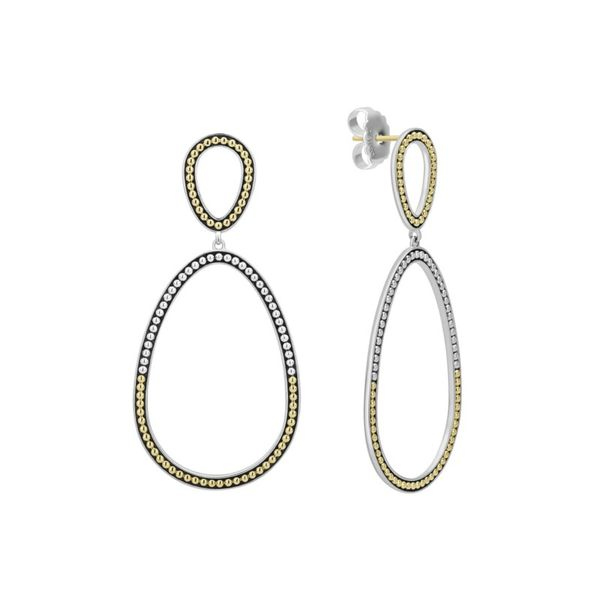 Signature Caviar Drop Earrings Hingham Jewelers Hingham, MA