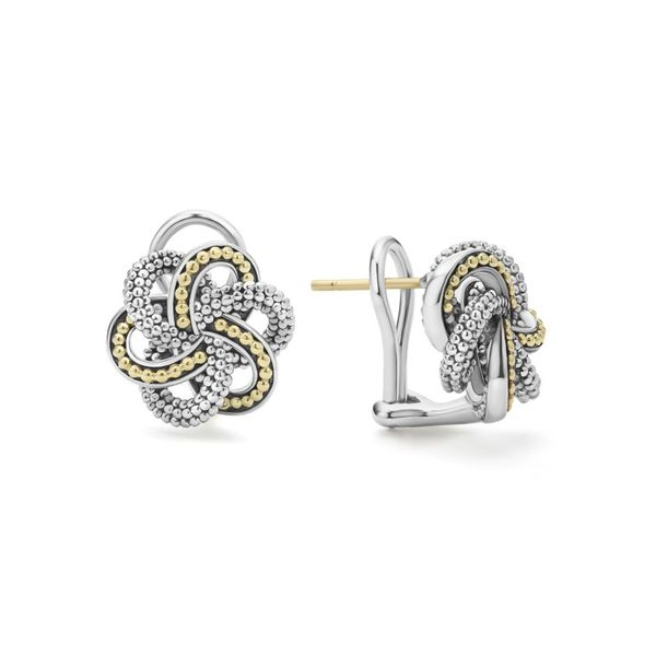 Love Knot Stud Earrings Hingham Jewelers Hingham, MA
