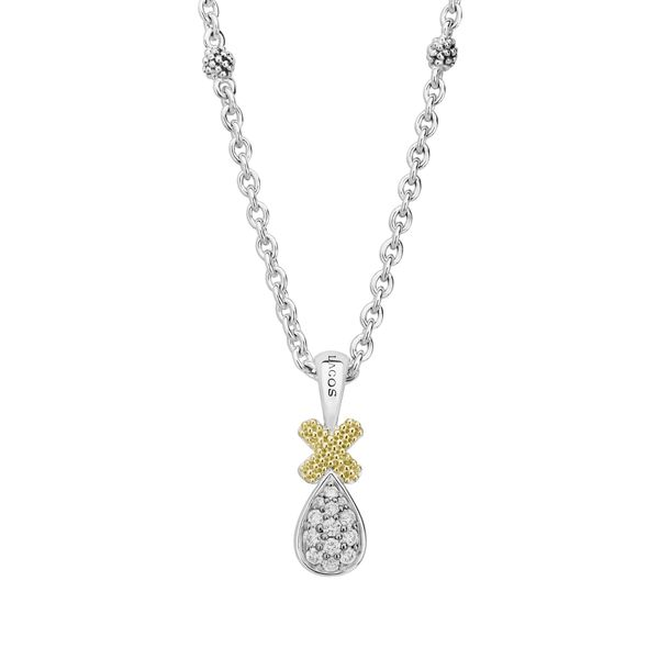 Caviar Lux Diamond Pendant Necklace Hingham Jewelers Hingham, MA