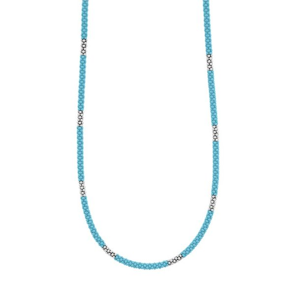 Blue Caviar Beaded Necklace Hingham Jewelers Hingham, MA