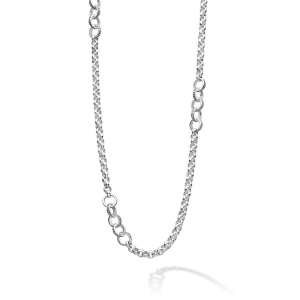 Signature Caviar Long Link Necklace Hingham Jewelers Hingham, MA