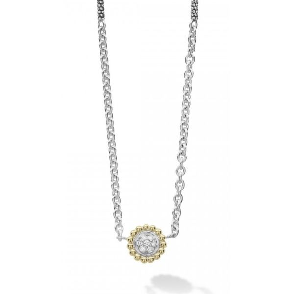 Caviar Lux Beaded Pendant Necklace Hingham Jewelers Hingham, MA