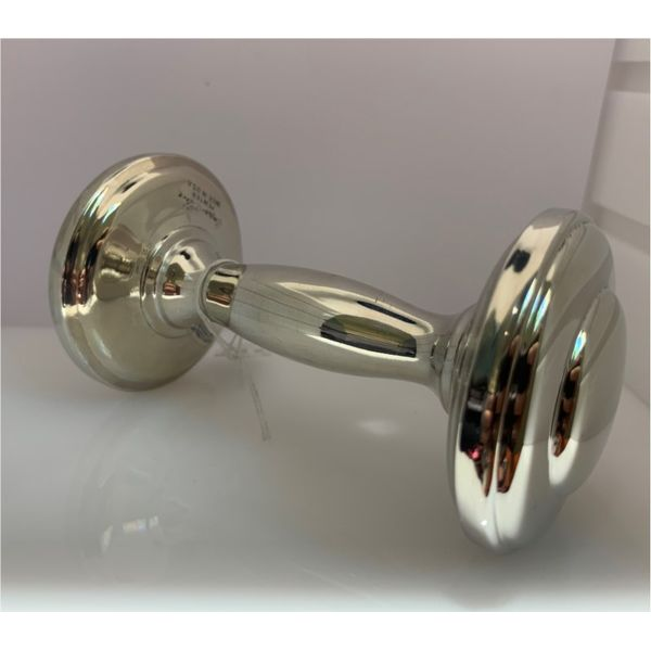 Pewter Dumbbell Rattle Hingham Jewelers Hingham, MA