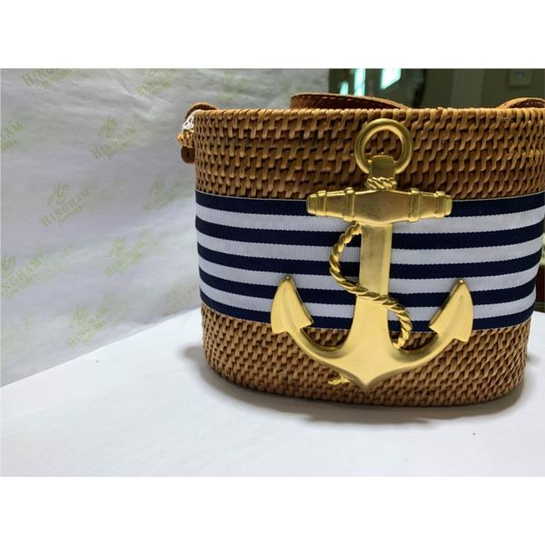Crossbody Handbag with Anchor Hingham Jewelers Hingham, MA