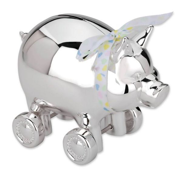 Piggy with Wheels Bank Hingham Jewelers Hingham, MA