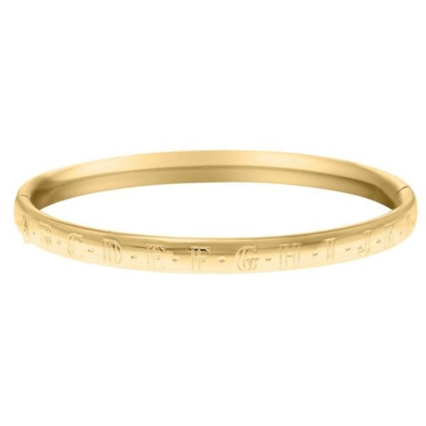 Gold Filled Children's Bangle Hingham Jewelers Hingham, MA