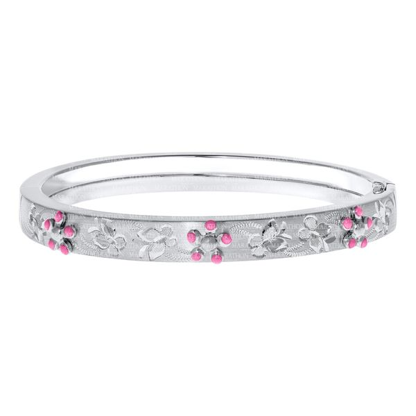 Child's Flower Bangle Hingham Jewelers Hingham, MA