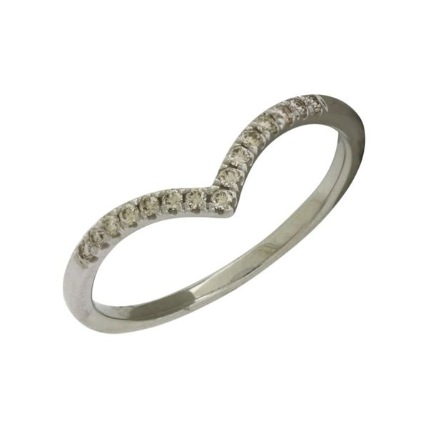Chevron style diamond band. Holliday Jewelry Klamath Falls, OR