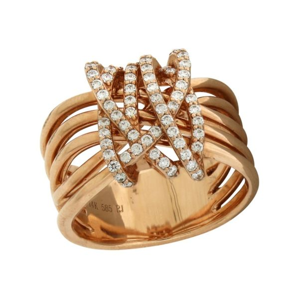 Rose Gold Diamond Ring Holliday Jewelry Klamath Falls, OR