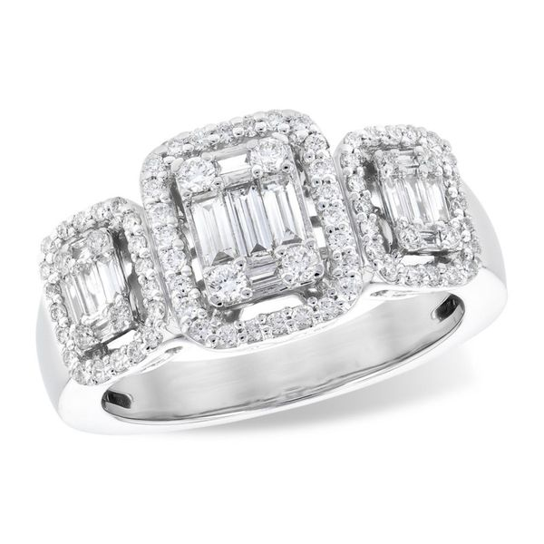 Allison Kaufman diamond cluster ring. Holliday Jewelry Klamath Falls, OR