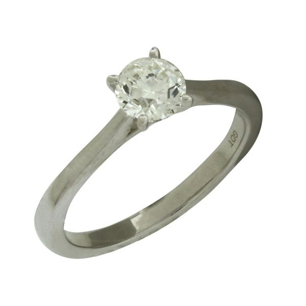 3/4 carat solitaire diamond ring. Holliday Jewelry Klamath Falls, OR